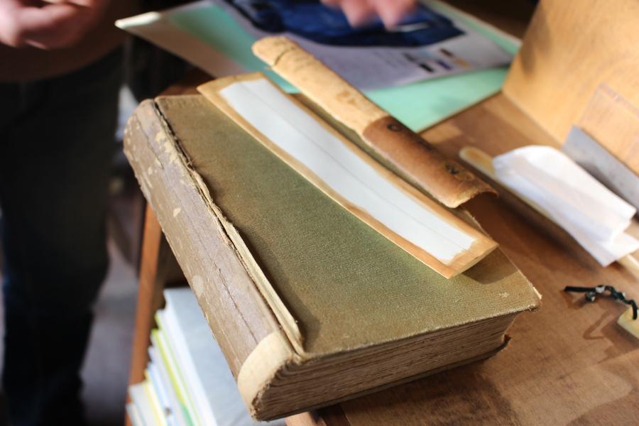 書籍の修理と保存